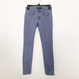 Just Black Jeans Front Welt Pockets 25P #2746